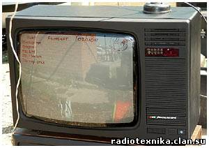Телевизор рекорд 381 схема фото 18